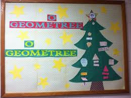 christmas bulletin board math tree by mrs smith whca christmas