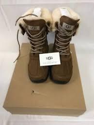 ugg s adirondack winter boots ugg s adirondack iii winter boots chestnut size 9 ebay