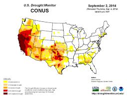 Western Us Map Paleo Mega Drought Bleeds All Over Western U S