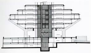 Floor Plan Of A Library by Gallery Of Ad Classics Geisel Library William L Pereira