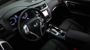 black nissan inside 2016 nissan altima interior design youtube