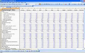 Debt Snowball Spreadsheet Download Dave Ramsey Allocated Spending Plan Excel Spreadsheet