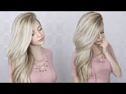 hairstyles for long hair at home videos youtube how to easy blowout blowdry routine wet to dry youtube