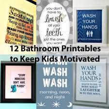 Dinosaur Bathroom Decor by Bathroom Decor For Kids U0027 Morning Routine
