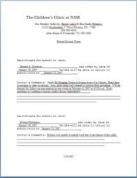 clinic note doctor u0027s note template free download sample doctor