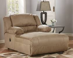 Couch And Chaise Lounge Hogan Contemporary Mocha Fabric Pressback Chaise W Cushion Back