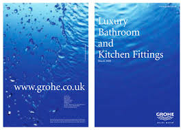 luxury bathroom and kitchen fittings grohe pdf catalogues