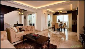 Penthouse Interior Penthouse Interiors In Bangalore By Living Edge Architects