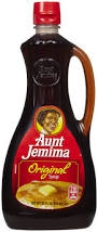 image result for aunt jemima syrup label studies for projects