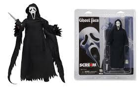 ghost face scream mask scream ghostface killer horror retro style 8 inch scale figure