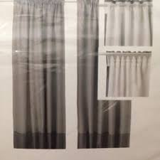 used brand new ikea marjun grey blackout curtains in sk13 peak for