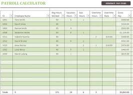 Free Excel Payroll Template 3 Free Excel Payroll Templates