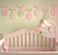Decorative Wall Letters Nursery Baby Nursery Decor Hanging Baby Nursery Wall Letters Impressive