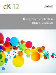 ck 12 biology teacher u0027s edition life biochemistry