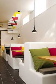 making renovation restaurant decor ideas bright color restaurant