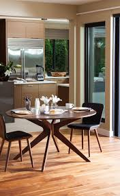 Kitchen With Dining Room Designs by Best 25 Round Tables Ideas On Pinterest Round Dining Room
