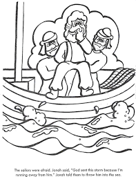 jonah coloring page bible coloring pages jonah learns to obey
