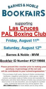 Barnes And Nobles Membership Support For Las Cruces Pal Boxing Krwg