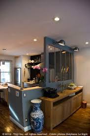 s駱arer la cuisine du salon déco salon pour la pièce de vie pour séparer un peu salon et