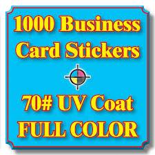 aliexpress com buy 1000pcs custom waterproof business card