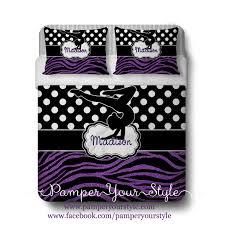 Zebra Bedroom Set Gymnastics Comforter Or Duvet With Matching Shams