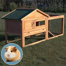 Guinea Pig Hutches And Runs For Sale Meadow Cute Wooden Guinea Pig Hutch And Run Buy Animal Hutches