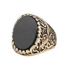aliexpress buy 2015 new arrival mens ring fashion kinel hot 2017 vintage look black rings for women antique gold