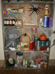 scary shelf created for the witches house for the production of