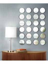 mirrors decoration on the wall simone design blog decorating with