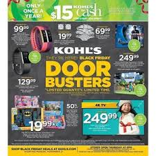 kohl s black friday 2016 ad