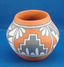 Indian Wedding Vase Story Jemez Pottery Ebay