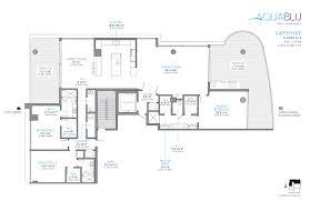 Waterfront Floor Plans Waterfront Residences Aquablu Las Olas