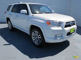 2013 4runner Limited Interior 2013 Blizzard White Pearl Toyota 4runner Limited 71010060 Photo