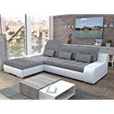 European Sectional Sofas Amazon Com Cesare Lux European Sectional Sleeper Pull Out Sofa