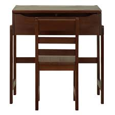 kids slant desk with chair walnut at home at home