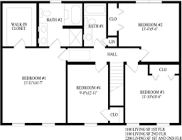 Federal Style House Floor Plans Billingsley Two Story Style Modular Homes