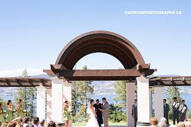 wedding arch kelowna lori nic kelowna cedarcreek winery and hotel eldorado wedding