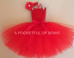 red tutu dress etsy
