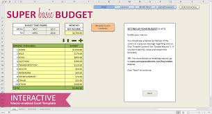 Template For Budgeting Money Easy Budget Spreadsheet Excel Template Savvy Spreadsheets