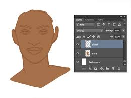 how to paint realistic skin in adobe photoshop