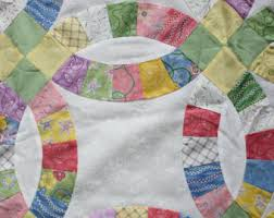 Double Wedding Ring Quilt by Sale Quilt In A Box Double Wedding Ring Pre Cut Quilt Kit