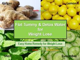 best detox water lose belly fat with flat tummy water health