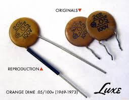 luxe 1969 73 st te p bass 05mfd 100v ceramic capa