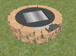 Diy Gas Firepit How To Build Outdoor Pits And Fireplaces Designs Ideas And