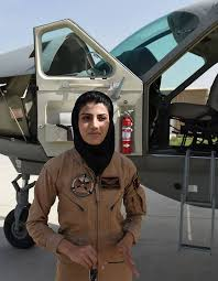 Seeking Pilot Niloofar Rahmani Pilot In Afghanistan Seeking