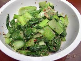 recette cuisine asiatique recette de you cai mariné sauce asiatique
