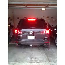 vw led tail lights 03 07 volkswagen toureg euro style led tail lights red smoked