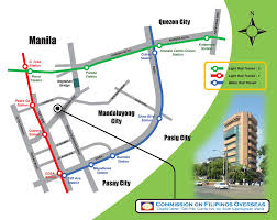 Map Location Location Map Exchange Visitors Program Of The Philippines