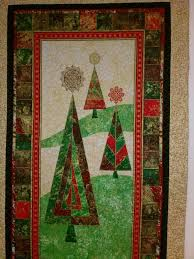 back porch quiltworks red green u0026 gold christmas tree wallhanging