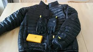 amazon down jacket black friday ravean heated jacket review youtube